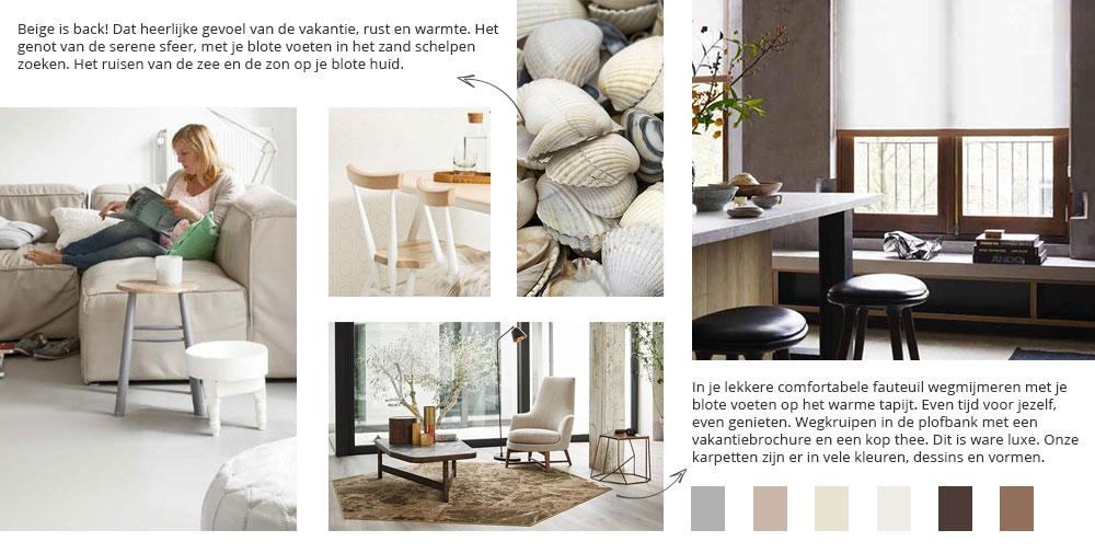 Kleur en sfeer in uw interieur